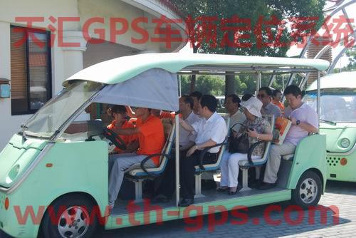 苏州某景区游览车队